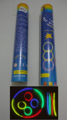 ''50pc 8'''' GLOW STICKs with Connecters''