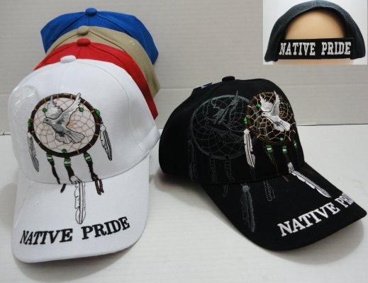 Native Pride Hat with DREAM CATCHER