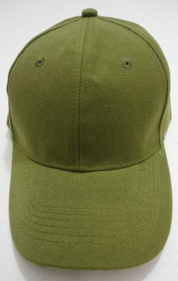 Solid ARMY Green Ball CAP