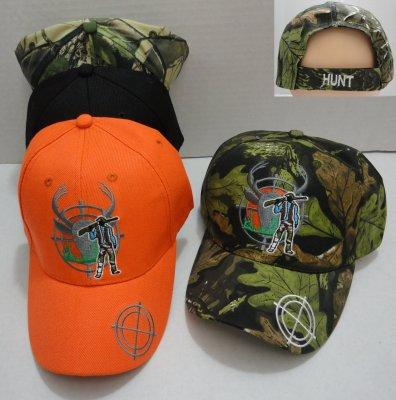 Hunter with GUN Hat [Deer in Crosshairs]