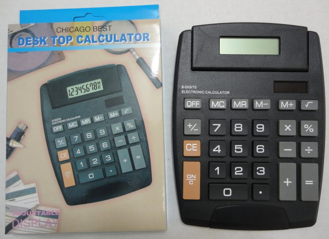 ''5.75''''x7.5'''' Solar Powered CALCULATOR''