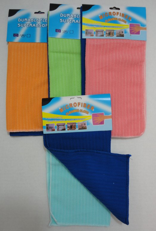 2pk MicroFiber Cleaning TOWELs
