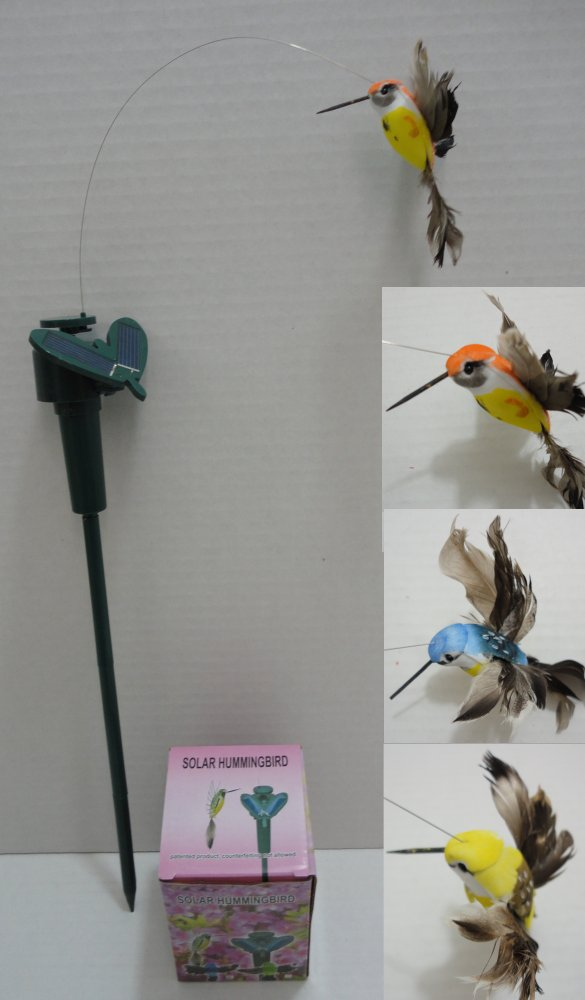 SOLAR Yard Stake [Hummingbird]