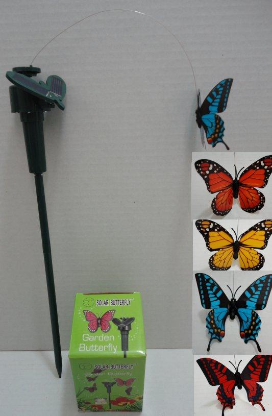 SOLAR Yard Stake [Butterfly]