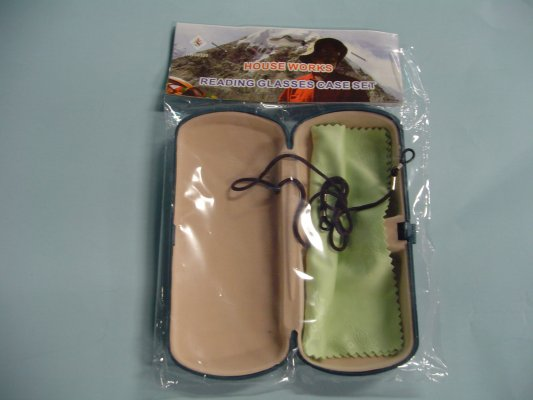 Glasses Case with Cleaning TOWEL