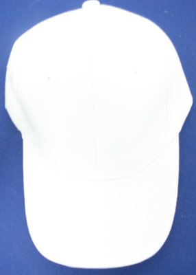 Solid White BALL CAP