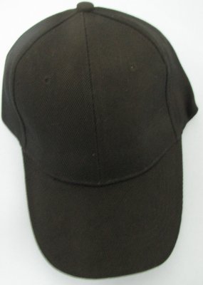 Solid Black BALL CAP