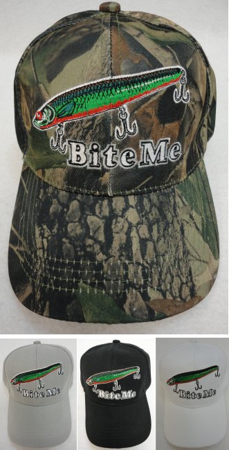 BITE ME Hat [FISHING Lure]