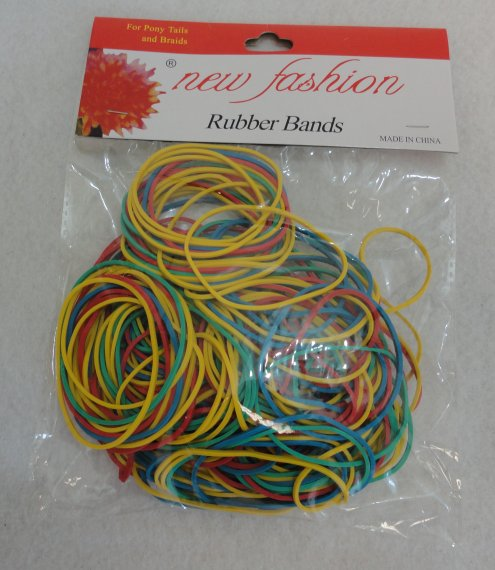 100G Colored RUBBER BANDS