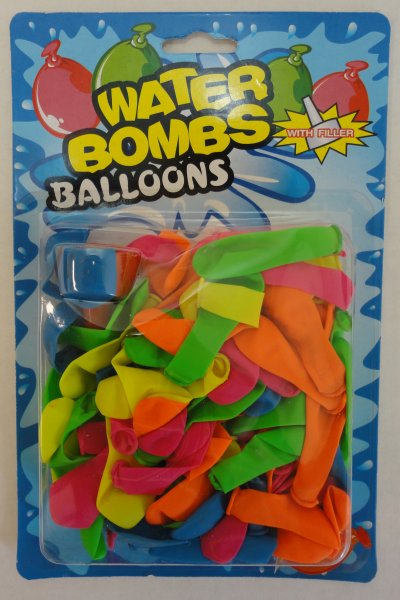 100pc Large Water BALLOONs with Filler