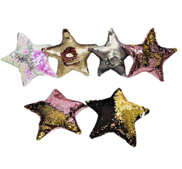 ''11''''x11'''' Reversible Sequin PILLOW [Star]''