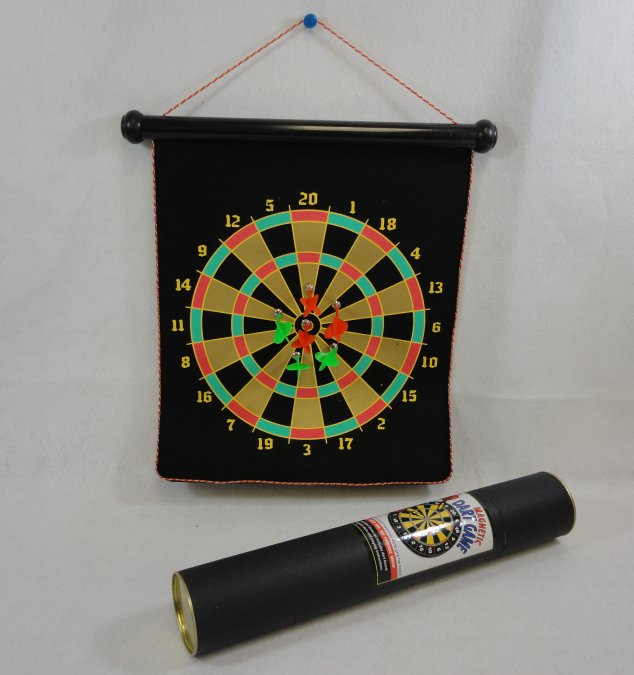 ''18.5''''x14.5'''' Two-Sided Magnetic DART Board [In Tube]''