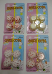 100pc Mini Printed Cup Cake Liners