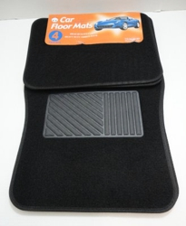4pc Car Mats-Black