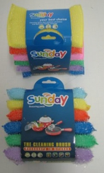 6pc Colored Sponges