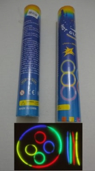 "50pc 8"" Glow Sticks with Connecters"
