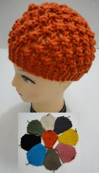 Wide Hand Knitted Ear Band [Solid Color] *LOOP