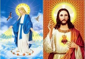 3D Picture 26--Jesus/Mary