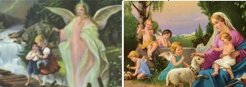 3D Picture 32--Angel with Children