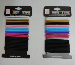 24pc Colored Elastic Bands