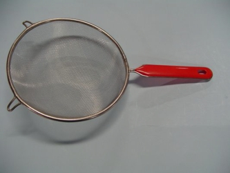 "7"" Round Mesh Strainer with Handle"