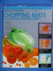 "Set of 2 15""x12"" Flexible Chopping Mats"