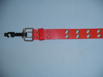 Red Belt with Holes-Medium Only