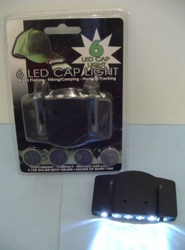 Cap light 6LED 4 Functions
