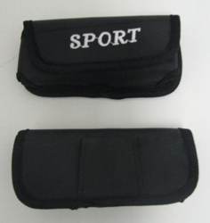 Black Nylon SPORT Cell Phone Case