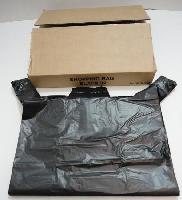 "32"" Black Plastic Bags-112ct -  Measures 25""x18""."