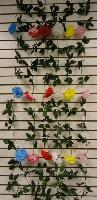 6ft Flower Garland [Carnation] - Assorted colors