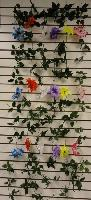 6ft Flower Garland [Pointed Flower] - Assorted colors