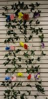 6ft Flower Garland [Rose] - Assorted colors