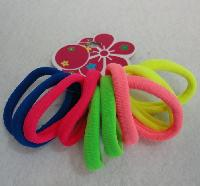 10pc Neon Pony Tail Holders