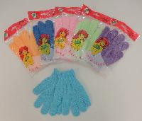 Shower Gloves--Assorted Colors