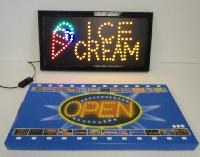 Light Up Sign-ICE CREAM