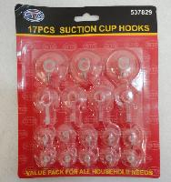 17pc Suction Cup Hook