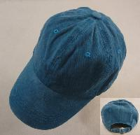Washed Cotton Ball Cap [TEAL]