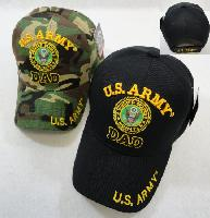 Licensed US Army DAD Ball Cap *Assorted Colors