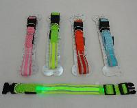 Nylon Reflective Light-Up Buckled Collar [Assorted Sizes]