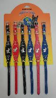 "12"" Dog or Cat Collars with Metal Characters"