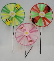 "13"" Round Wind Spinner [Felt Bug/Bee/Butterfly]"