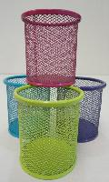 Colorful Mesh Pencil Holder