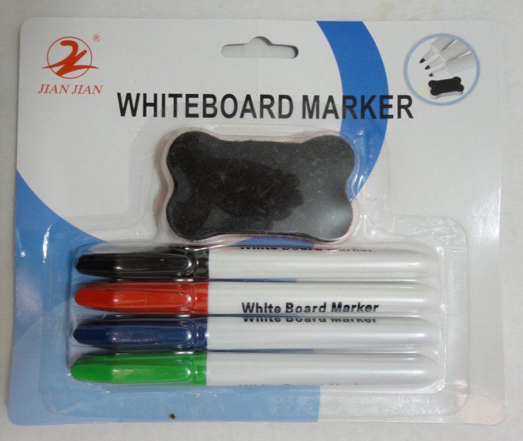 5pk Dry Erase Markers