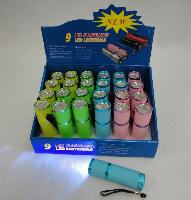 9LED Pastel Flashlight