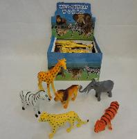 Large Plastic Zoo Animal