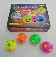 "2.5"" Flashing Squeaky Spike Ball"