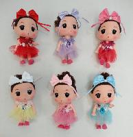 "6.5"" Baby Doll Key Chain"