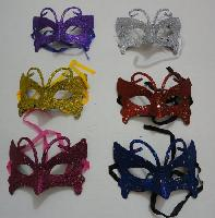 Masquerade Mask--Glitter Butterfly