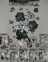 3D Black and White Wall Sticker